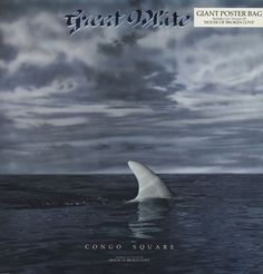 "For Sale - Great White Congo Square - Poster Sleeve UK  12"" vinyl single (12 inch record / Maxi-single) - See this and 250,000 other rare & vintage vinyl records, singles, LPs & CDs at http://eil.com"
