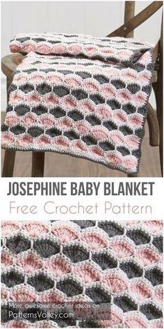 Josephine Baby Blanket Free Crochet Pattern