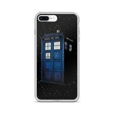 This sleek iPhone case protects your phone from scratches, dust, oil, and dirt. Police Box, Tardis, Doctor Who, Gifts For Him, Iphone Cases, Etsy Shop, Handmade Gifts, Check, Products