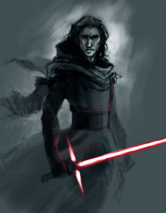 Kylo..Kylo no need to kill anyone and just listen to your Father and go back to the Light Side but noooooooo you gotta! Damn your irresistible. -Smh-