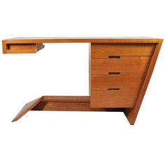 Dan Johnson Hayden Hall Desk 1947 | From a unique collection of antique and modern desks and writing tables at http://www.1stdibs.com/furniture/tables/desks-writing-tables/