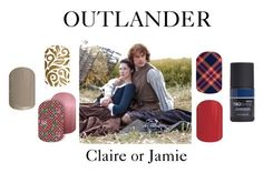 """Outlander Jamberry Style"" by agirlsgottodream on Polyvore featuring beauty, jamberry and Outlander"