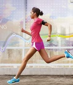 Nike Running Gear for Ladies - Sure bet for quality & stylish design.  Just helps to look good while sweating like a piggie ;)