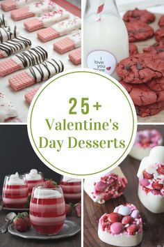 Looking for delicious Valentine's Day Desserts? Check our these amazing valentines treats. Perfect for a family dinner or romantic valentine's day date.