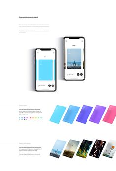 This application is to make your own diary having a card concept. You can write one diary for one day, and one card has a meaning as putting your daily life. This work is very interesting as the meeting with Korean designer and Chinese developer. Mobile Application Design, Mobile Ui Design, Ios App Design, User Interface Design, Ui Portfolio, Card Ui, Web Design Quotes, Ui Design Inspiration, Ui Web