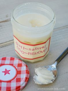 All Natural Goo Remover from Farmhouse38 - I can't wait to give this a try!