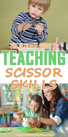 The Ultimate Guide to Teaching Scissor Skills – HAPPY TODDLER PLAYTIME