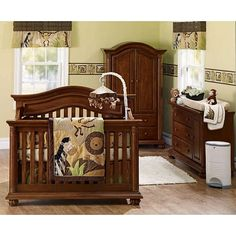 This Is The Bed Set I Wanted For My Boys Baby Cache Heritage Chestnut Toys R Us