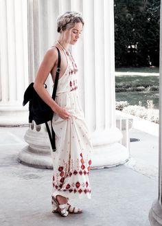 Boho Maxi Dress, Summer Outfits | WEARFATE by Mollie Moon | A Style Blog