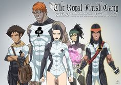 Royal Flush Gang (Earth-27) by phil-cho on DeviantArt