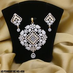 Party and Wedding Wear Women and Girls. Rama Creations Manufacturer & Wholesale of Imitation Fashion Jewellery in India. Jewelry Design Drawing, Gold Jewellery Design, Diamond Jewellery, Vintage Jewellery, Diamond Rings, Antique Jewelry, Pendant Set, Diamond Pendant, Pendant Jewelry