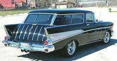1957 Chevrolet Nomad #classiccars1957cadillac
