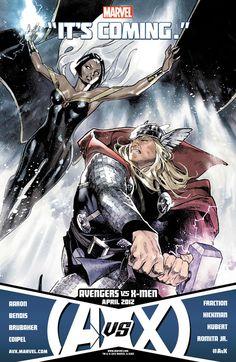 Storm vs Thor!