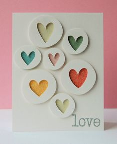 WITH LOVE COEURS /& Teddy Bear Peel Off Feuille Autocollant Pour Fabrication Carte Artisanat