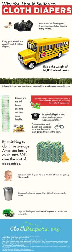 Just some of the reasons why so many parents love cloth diapering!
