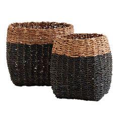 Madam Stoltz Bamboe manden set v. 2 zwart shop je hier online. DEENS.NL jouw online woonwarenhuis ✓ Snelle levering ✓ Veilig betalen ✓ persoonlijke service