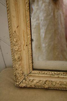 Vintage Mirror & Frame