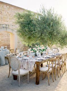 dustjacket attic: Wedding Inspiration   Al Fresco Wedding: Santa Ynez