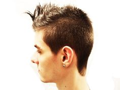 After the cut - Left side. Modelo: Juan Pablo.