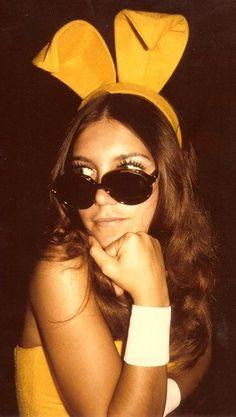 70s Playboy Bunny - so glam Playboy Bunny Costume d1a7686cf2775