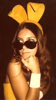70s Playboy Bunny - so glam
