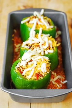 Mexican Stuffed Peppers   Flickr - Photo Sharing!