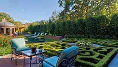 Hedge, Design, Formal, Knot Garden Garden Design Harold Leidner Landscape Architects Carrollton, TX