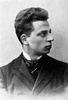 Rilke w roku 1897, wkrótce po przybyciu do Monachium