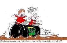 Assalto aos cofres da Petrobras | Humor Político