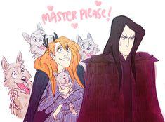 Sauron and Morgoth. Angbang. He is so cute!