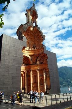 San Carlo Church Lugano Switzerland