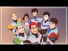 Can you notice how Dan and Phil are the red and blue paladins a.a klance (the gayest ship). Plus it fits their personalities very well Markiplier, Pewdiepie, Darkiplier And Antisepticeye, Youtube Gamer, Form Voltron, Septiplier, Best Youtubers, Dan And Phil, Nerd
