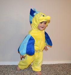 Disney Flounder Halloween Costume - Little Mermaid www.mydisneylove.com