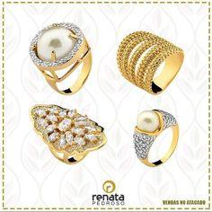Venha conferir nossos lindos anéis em www.mercadodejoias.com    @renatapedrosojoiasembruto    #semijoias #acessorios #Jewel #amei #brincos #itgirl #moda #tendencias #jewelry #today #amomuito #saopaulo #estilo #glamour #folheados #bruto #bijouterias #bijoux #altabijoux