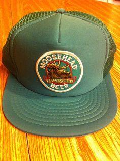 60a0163d03a90 Moosehead Beer Vintage SnapBack Trucker Hat