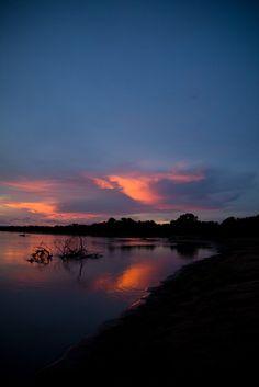 awakyn:  Zimbabwe sunset