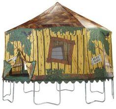 Rocket Trampoline Tent for 15' JumpKing Combo   Trampoline tent, Backyard trampoline, Trampoline ...