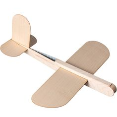 Contexture Design - Glider Wooden Plane ($38) ❤ liked on Polyvore