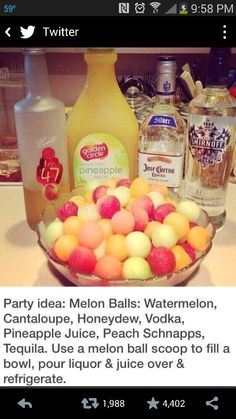 Great idea for girls night in.