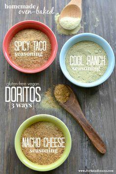Homemade Vegan Doritos - Fork  Beans