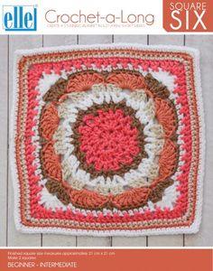 CAL Square 6 - Crochet-a-Long - Patterns