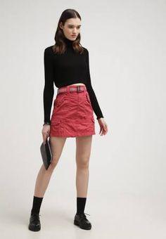 Edc by Esprit Minifalda Red vestidos y faldas red Minifalda Esprit Edc By CentralModa.eu