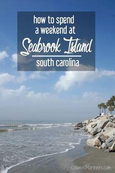 How to Spend a Weekend on Seabrook Island, South Carolina   CosmosMariners.com