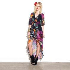 South Of The Border Dress Floral, $85, now featured on Fab.