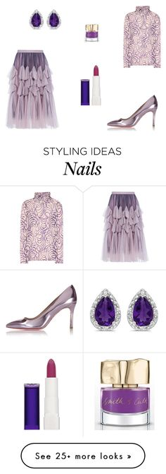 """""""Untitled #7266"""" by mie-miemie on Polyvore featuring Dries Van Noten, Miu Miu, Allurez, Rimmel and Smith & Cult"""