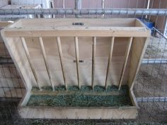 wooden hay feeders for horses | My dad made these beautiful wooden hay/pellet combo feeders for me and ...