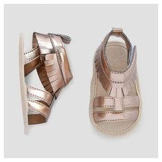 986c1b646 Baby Girls  Gladiator Sandals - Cat  amp  Jack Gold 0-3 Months