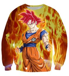 Goku SSG SweatShirt   Tag a friend who would love this!   FREE Shipping Worldwide   Buy one here---> https://www.shenronstore.com/men-and-women-long-sleeve-outerwear-handsome-dragon-ball-z-goku-3d-sweatshirt-male-female-anime-sweatshirts-crewneck-pullovers/
