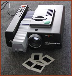Slide projector - I remember the sound this made as it changed slides.