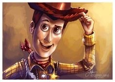 Woody Tips His Hat!